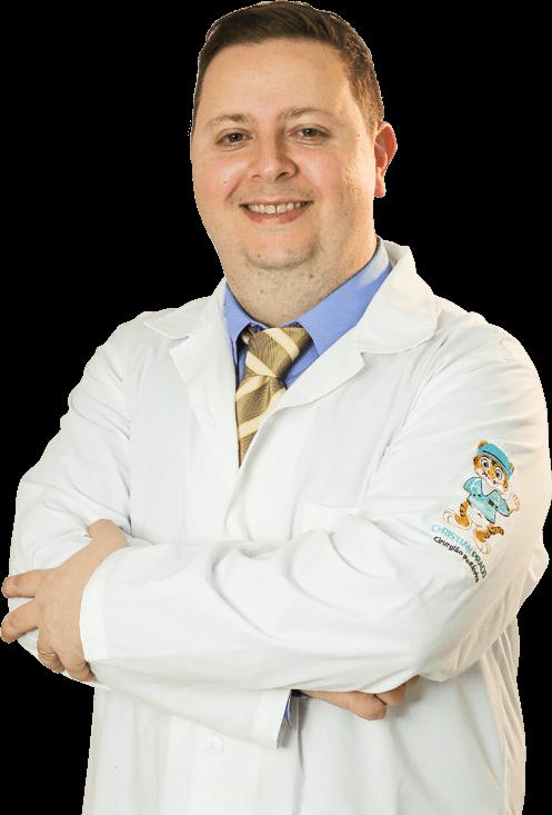 Currículo - Dr Christian Prado Cirurgião Pediátrico